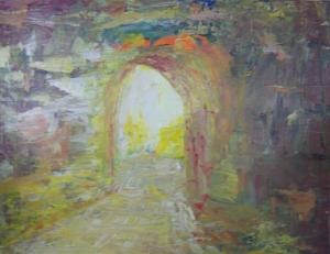 Impressionistic with knife