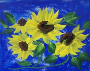 Sunflower Galore 001