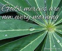 God mercies are new