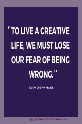 Must lose fear